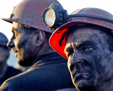 Мокрые шахтеры хотят Юлю