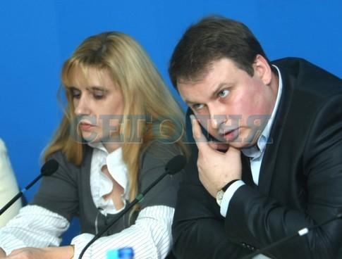 Елена Полюхович и Артем Дегтярев