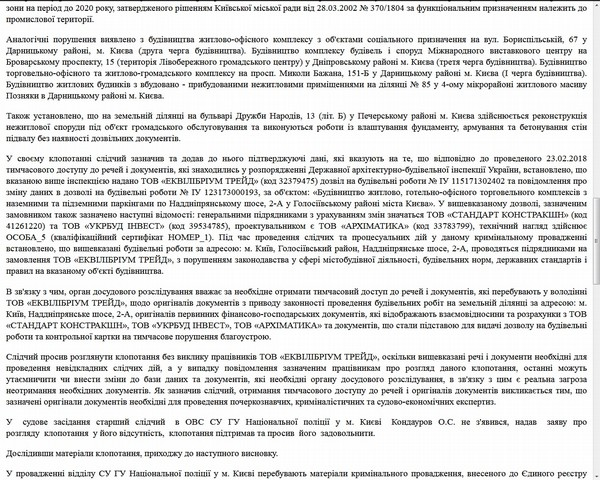 ЖК Svitlo Park строится незаконно: Застройщики и чиновники проходят по уголовному делу