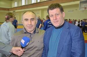 Руслан Савлохов и Олег Крапивин