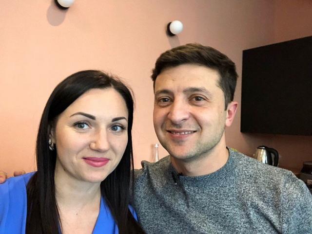 Владимир Зеленский и Светлана Лутковская