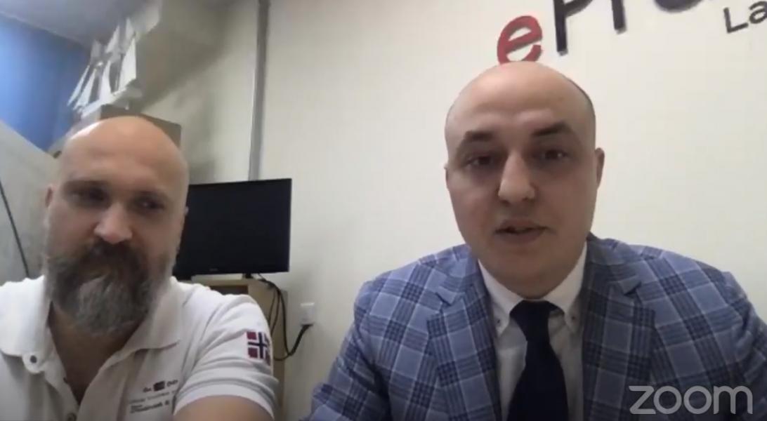 Андрей Мартынюк и Виталий Власюк
