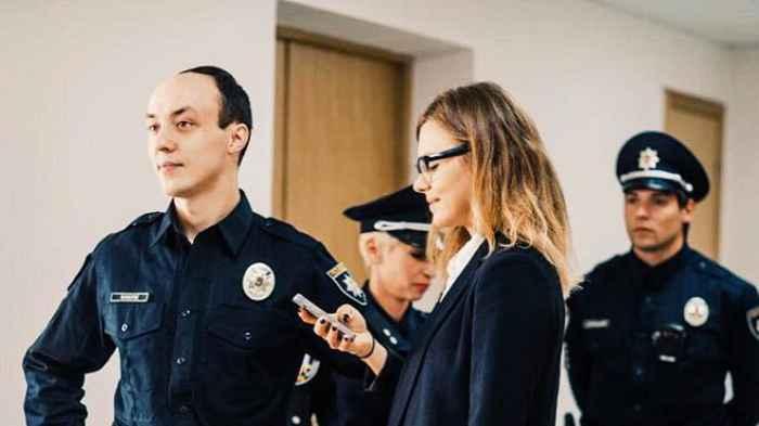Владислав Власюк на службе в полиции