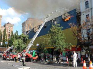 Пожар на Крещатике: стало известно, кто был заинтересован в уничтожении исторического дома