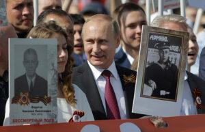 Победобесие в Киеве. Кто готов встречать Путина с хлебом-солью?