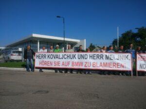 «BMW Händler, kapitulieren!»