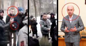 Нардепа Левченко избили люди скандального застройщика, связанного с мэром Тернополя от «Свободы»