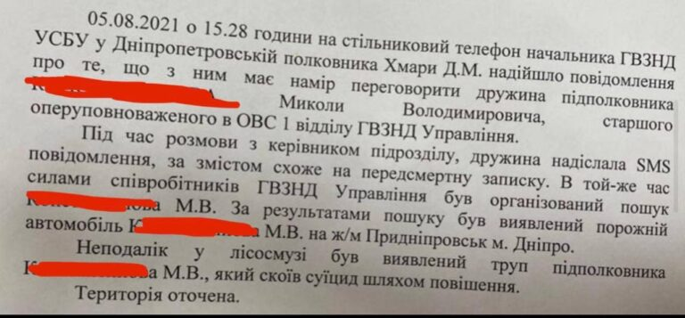 Смерть подполковника СБУ Константинова. Приказано забыть
